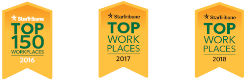 Successful Bonfe Career Stories - Star Tribune Top Workplaces logo