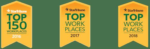 Successful Bonfe Career Stories - Star Tribune Top Workplaces logo
