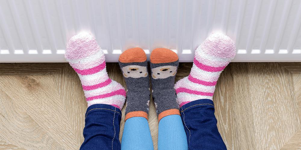 Kids with Socks