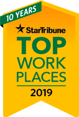 Star Tribune top 150 workplaces 2019