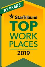 Star Tribune top 150 workplaces 2019