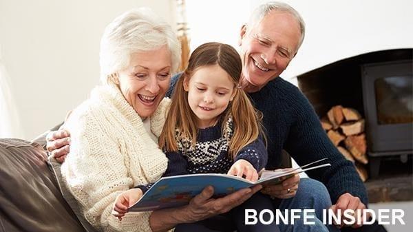Bonfe Insider Family Reading Book